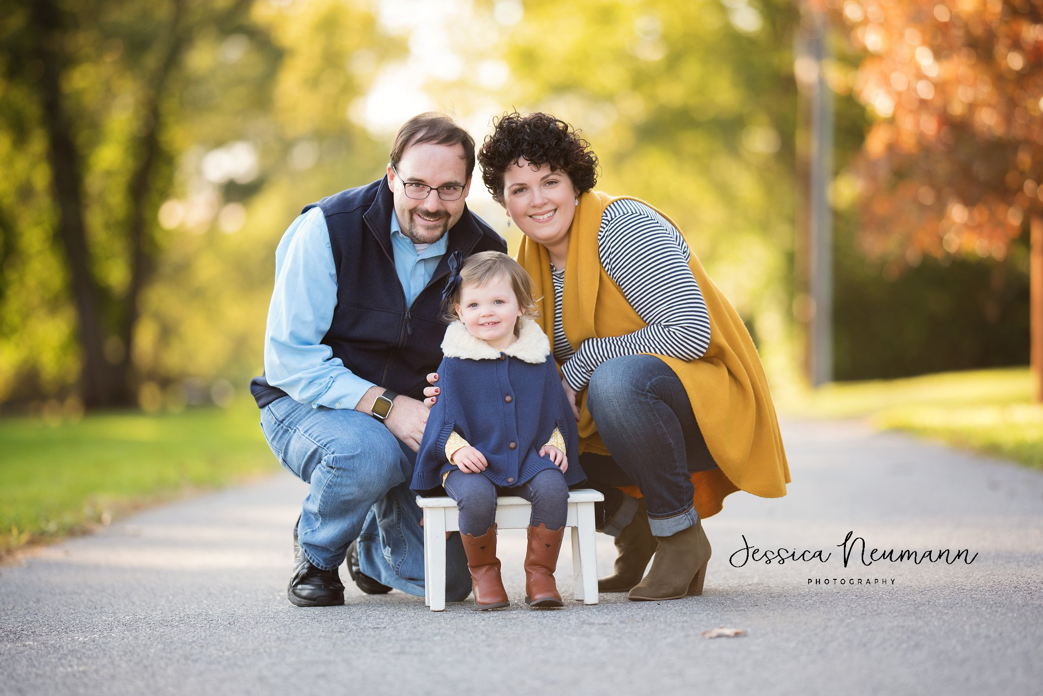 Family photo session in New Market, MD