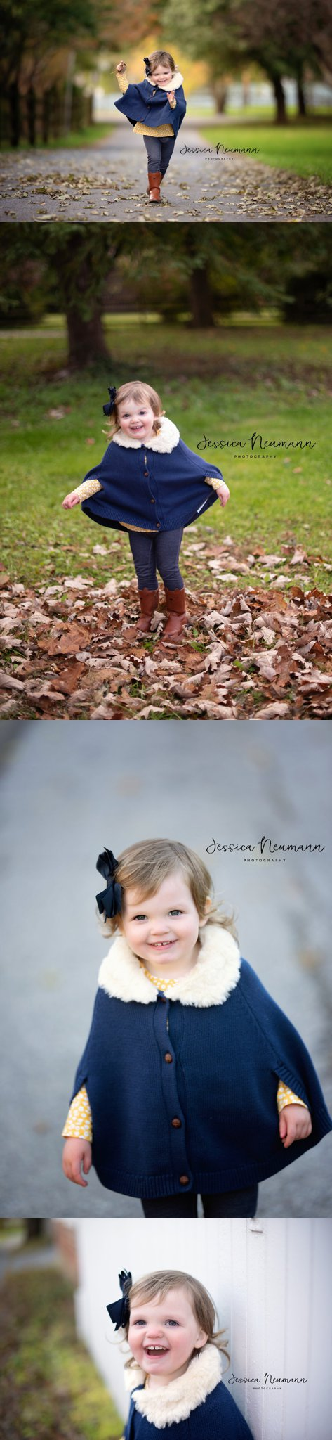 Outgoing 2 year old photo shoot in New Market, MD