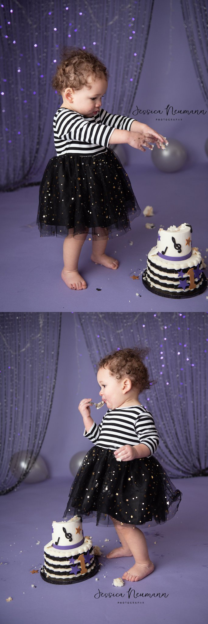 Cake Smash for baby girl, Rockville, MD
