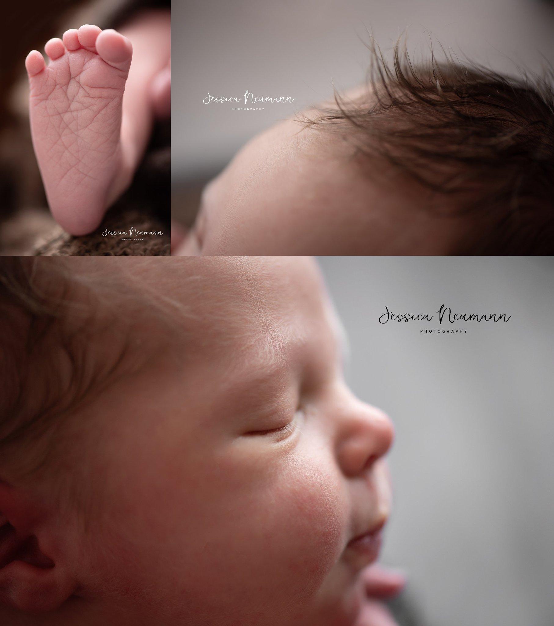 Macro newborn images