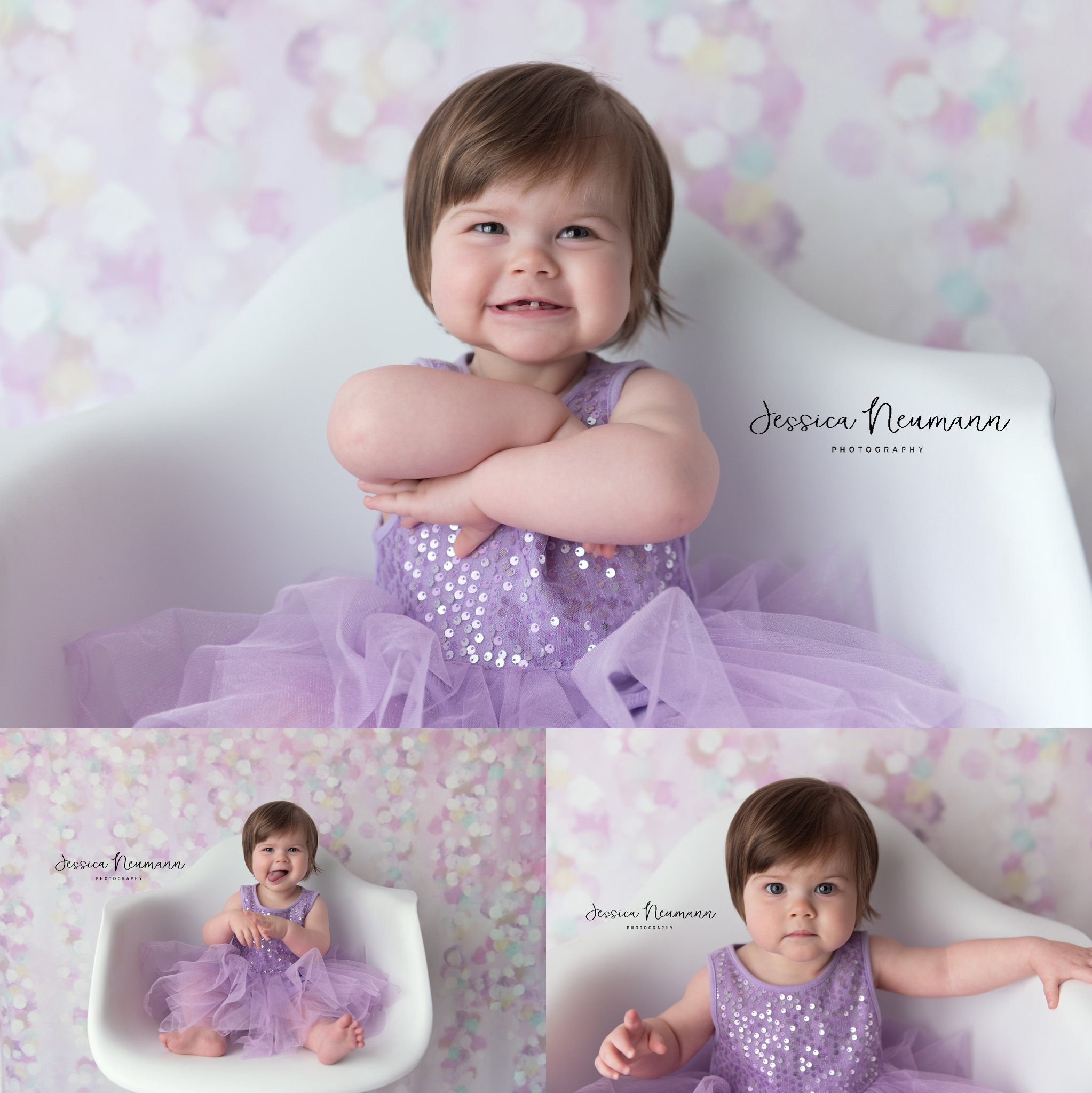 Cute one year old girl pictures in New Market, MD