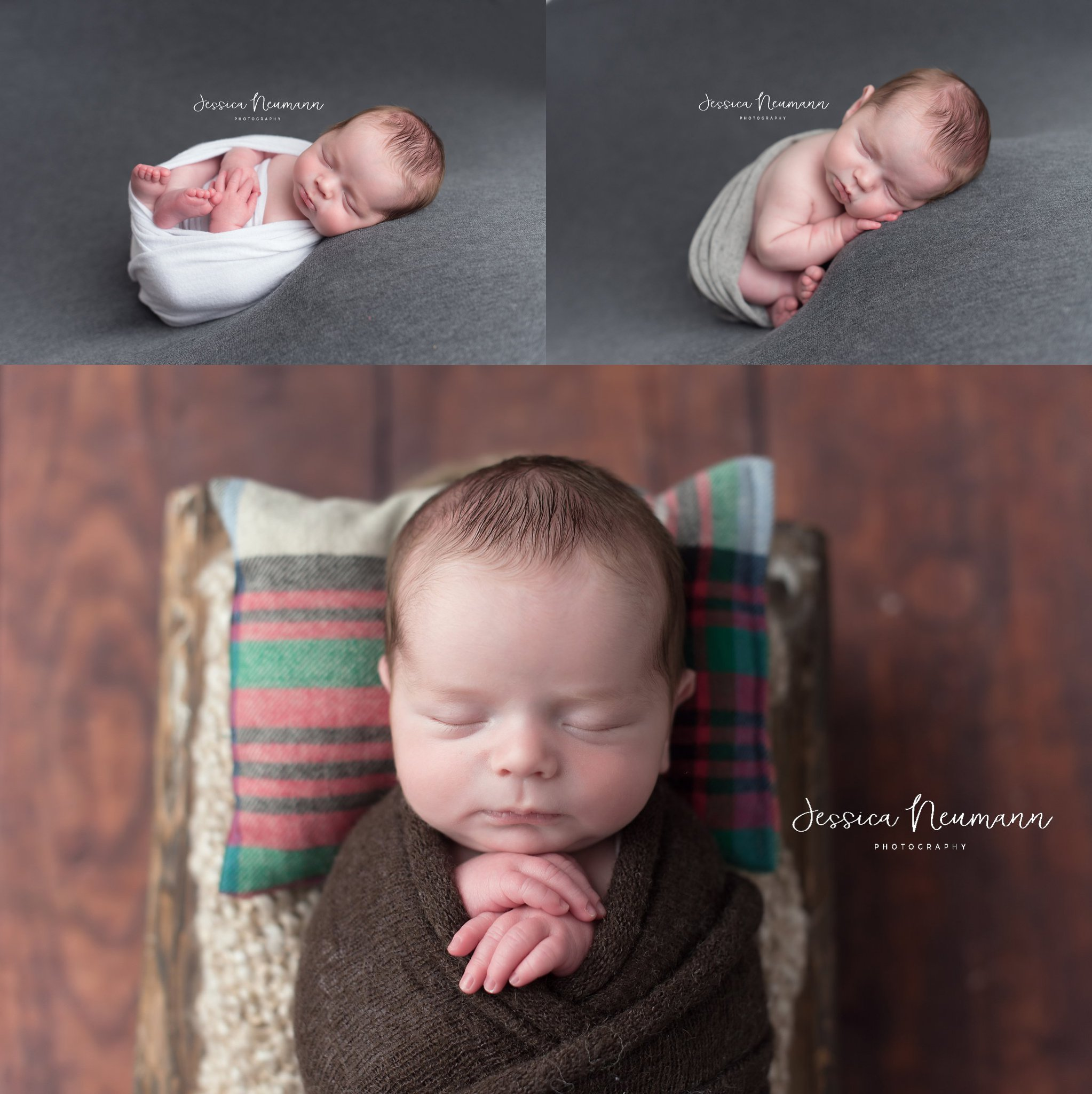 Sleeping newborn photos in Frederick, MD