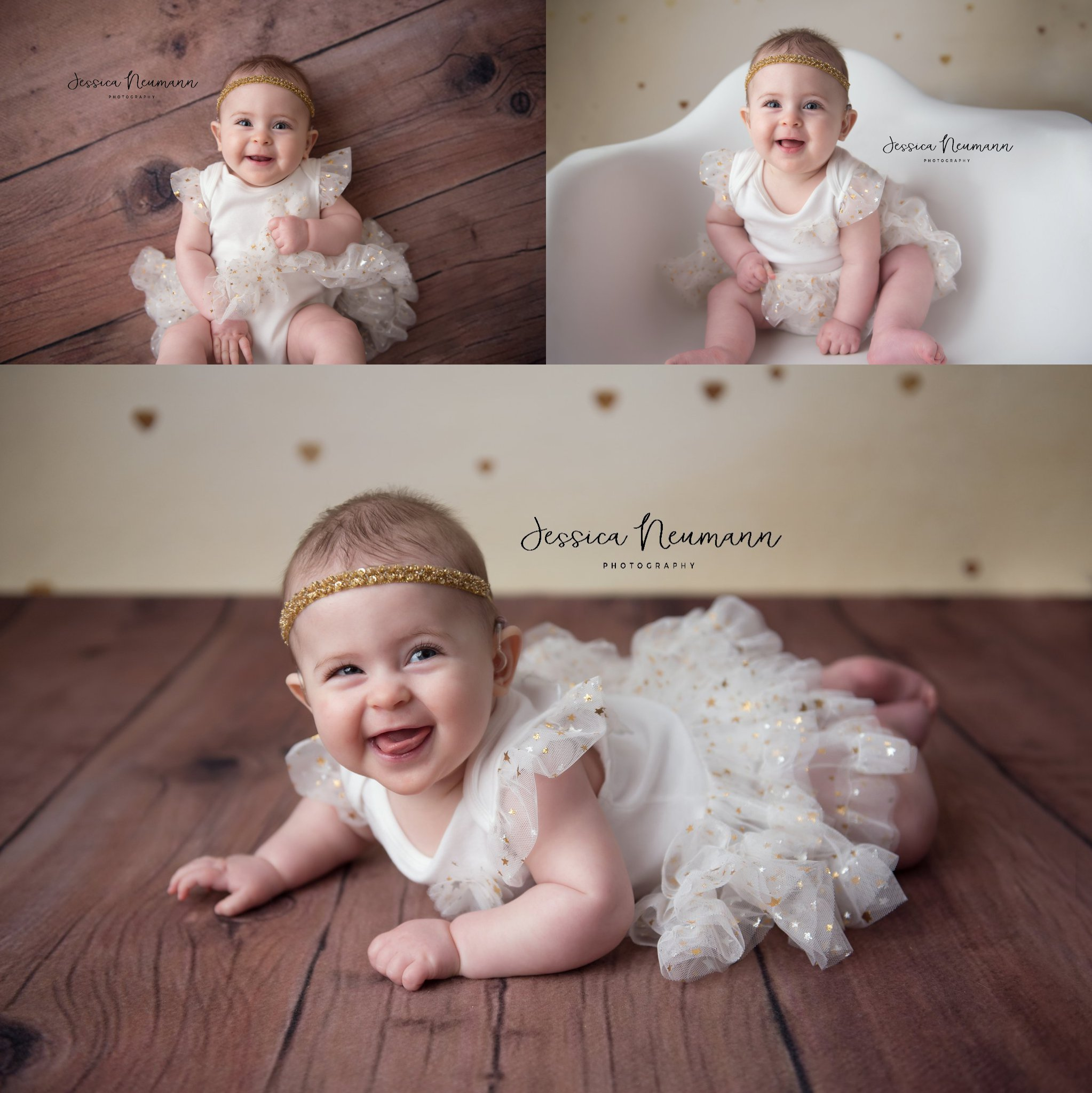 Six month old girl photo session in Baltimore, MD