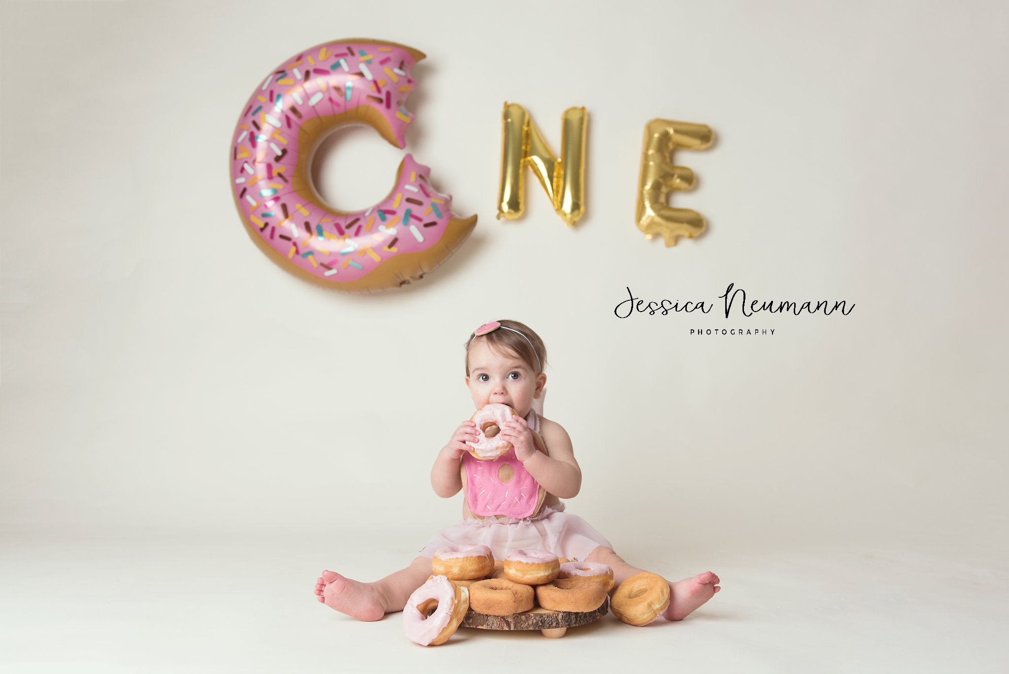 One year old donut smash in Frederick, MD