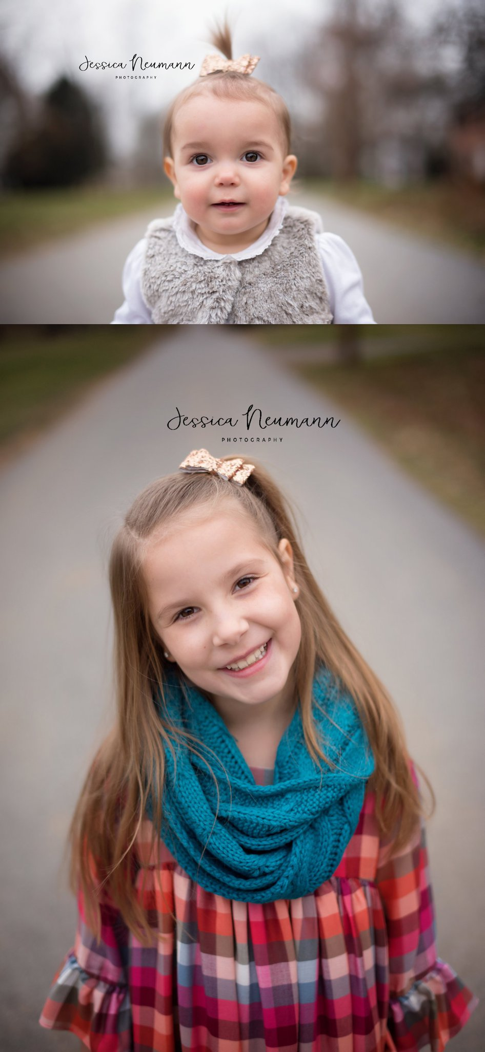 One year old and seven year old sisters in Frederick, MD
