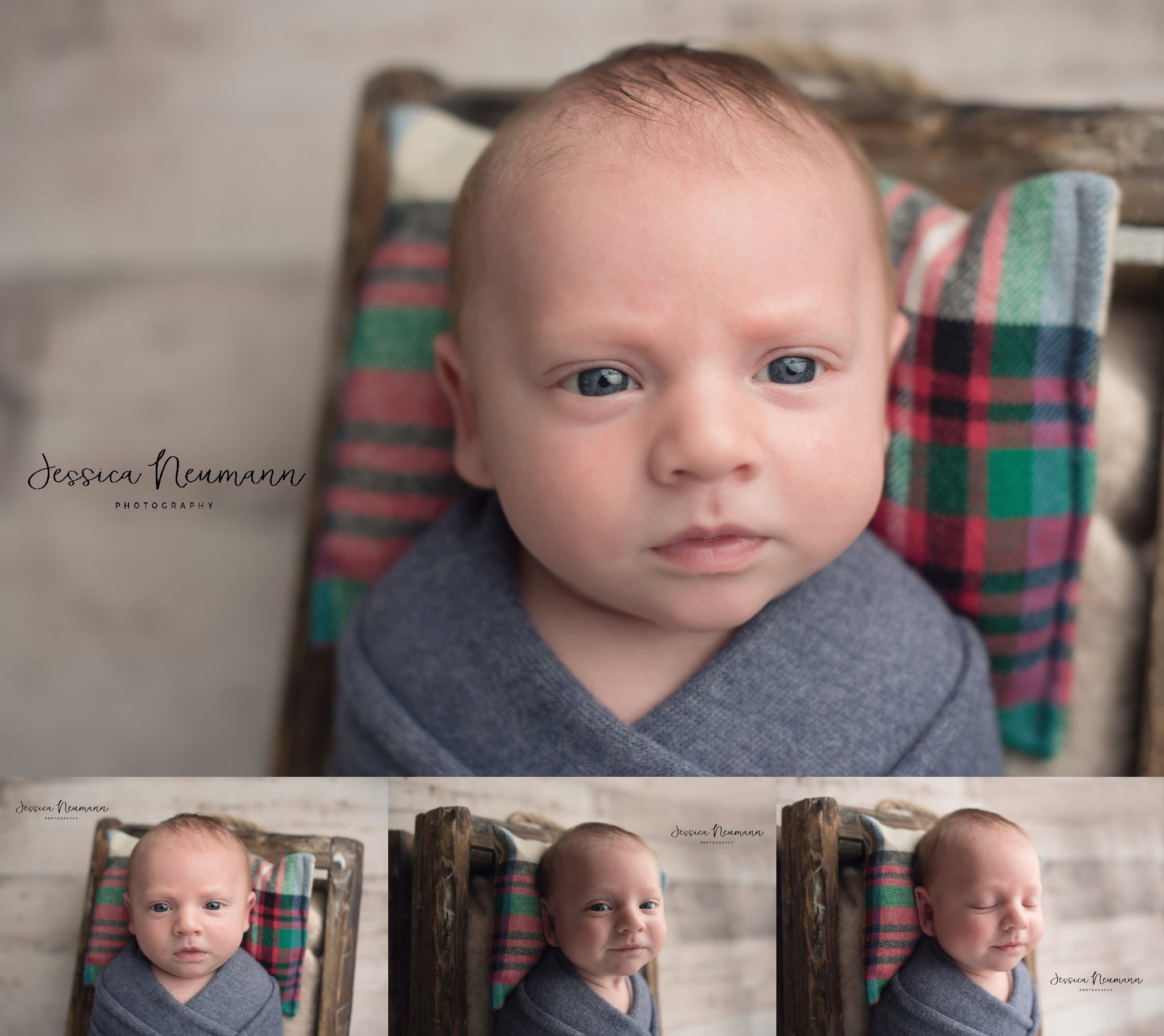 5 week old boy photoshoot in Frederick, MD