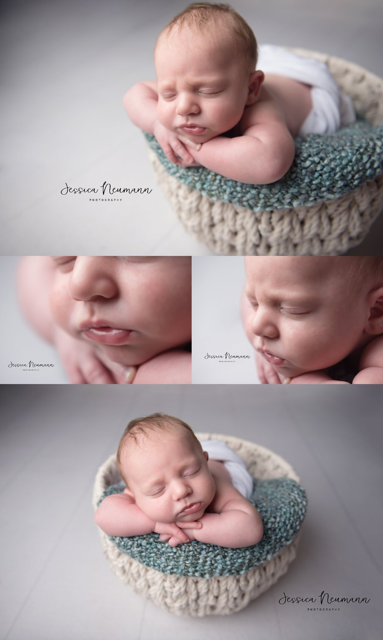 Sleeping newborn pictures in Frederick, Maryland
