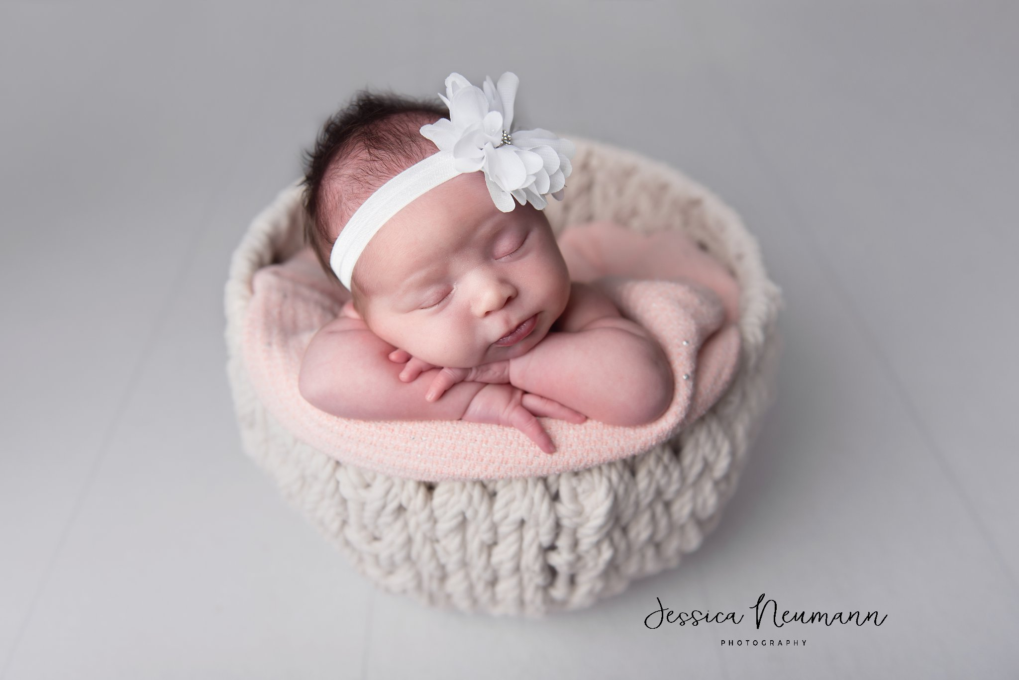 Newborn girl in New Market, Maryland