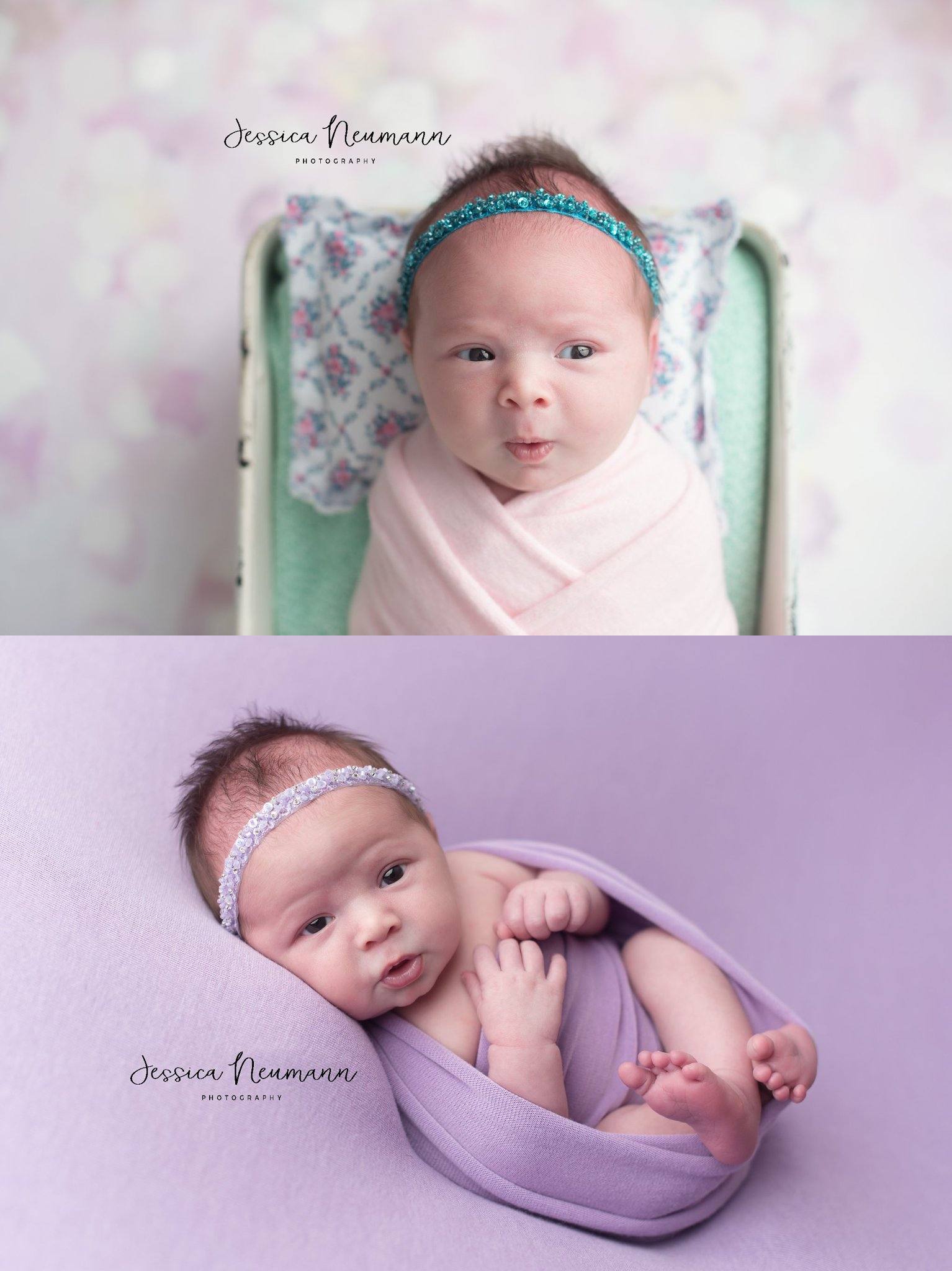 7 day old baby girl photos in New Market, MD