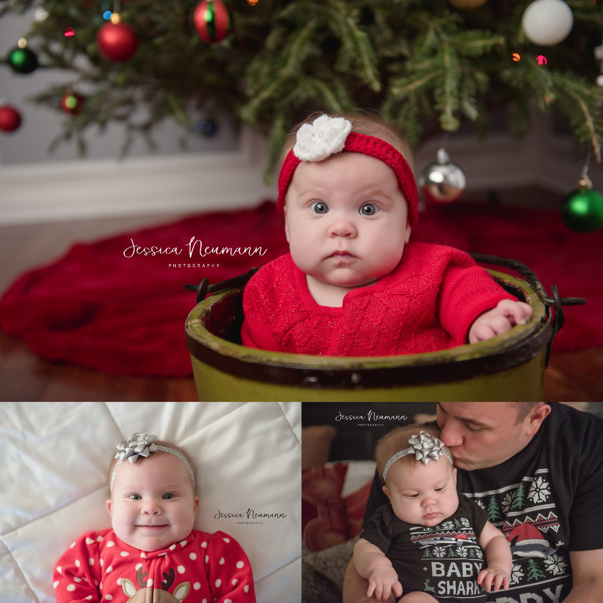Baby girl Christmas outfits in Frederick, Maryland.jpg