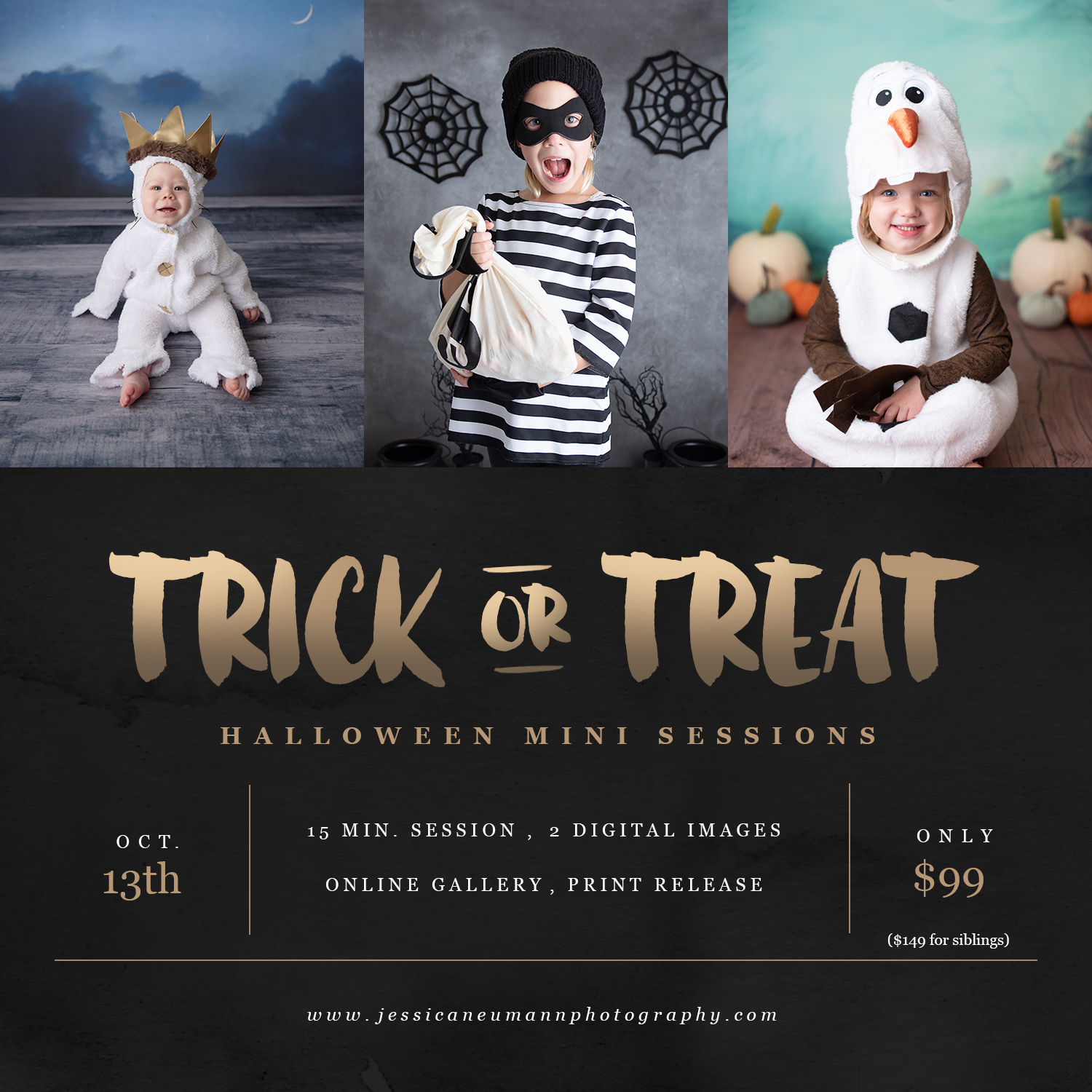 Halloween Mini Sessions Frederick MD