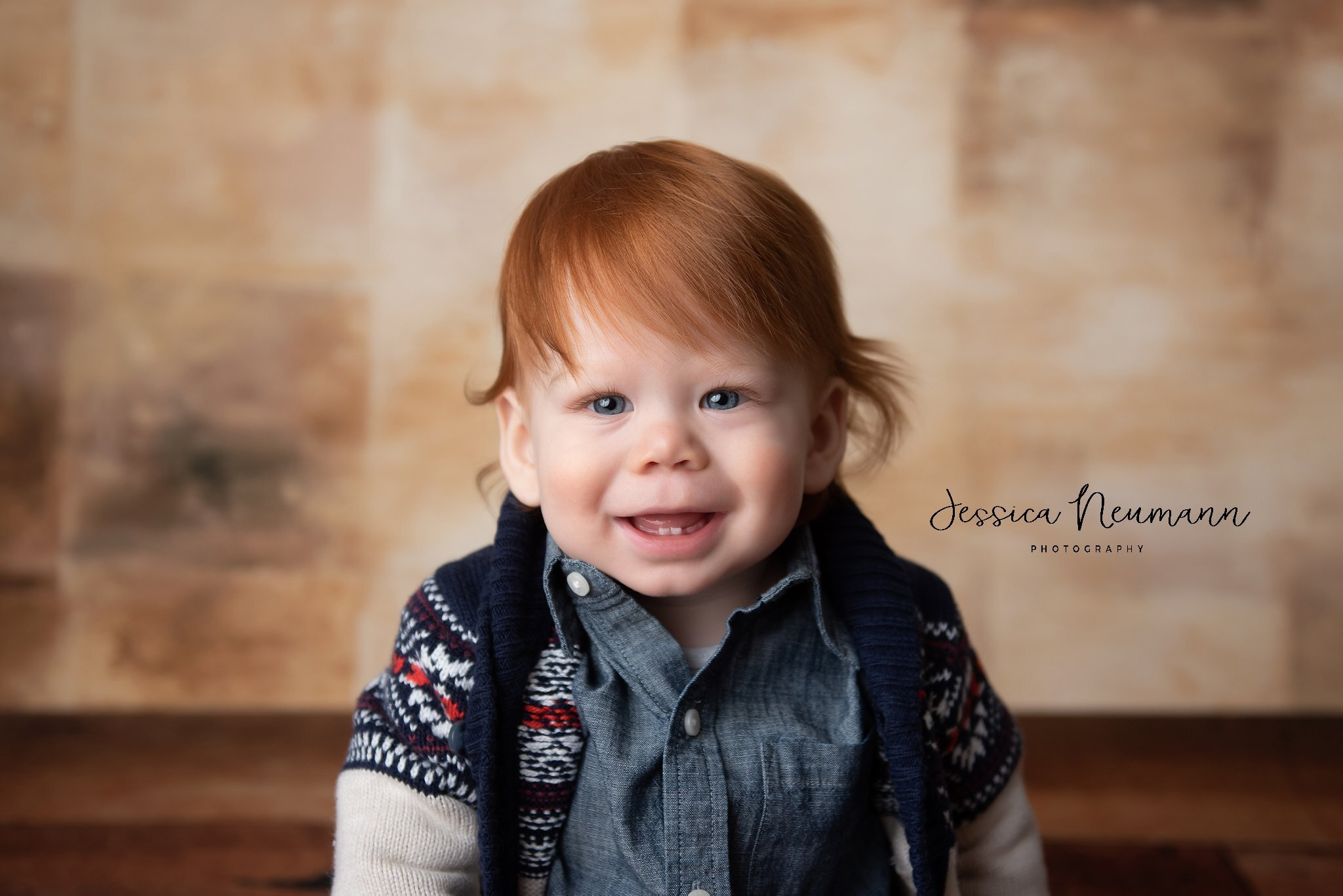 One year old boy photo in Frederick, MD
