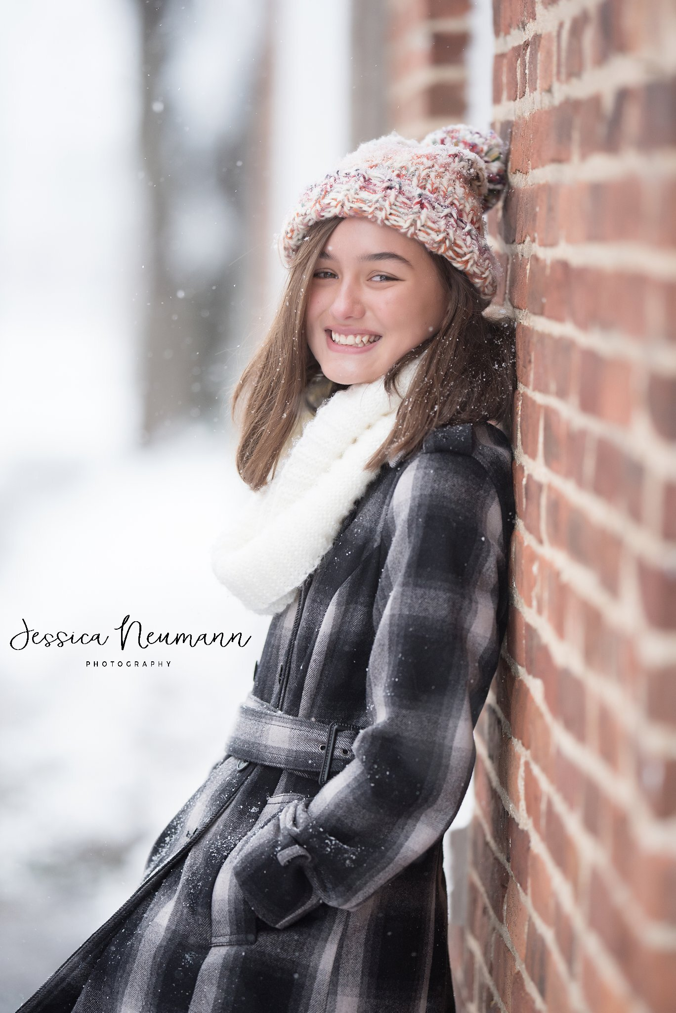High school senior girl, New Market, MD