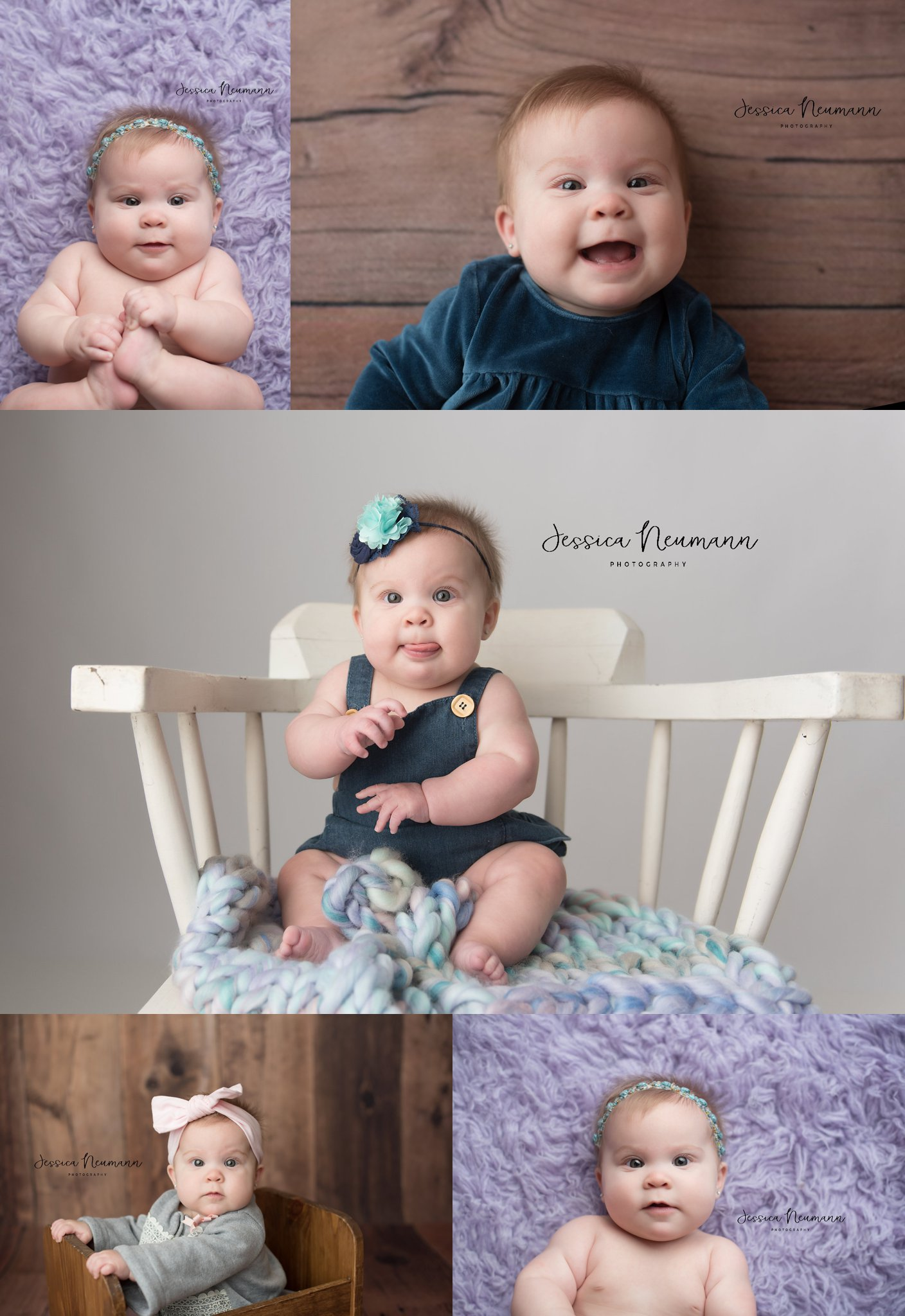 6 Month old baby girl photos in New Market, Maryland