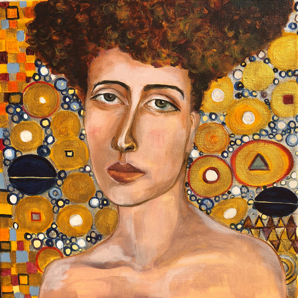 PAINTINGS - Inspired by women like you, some artworks are created in just acrylic and oil paints on canvas.