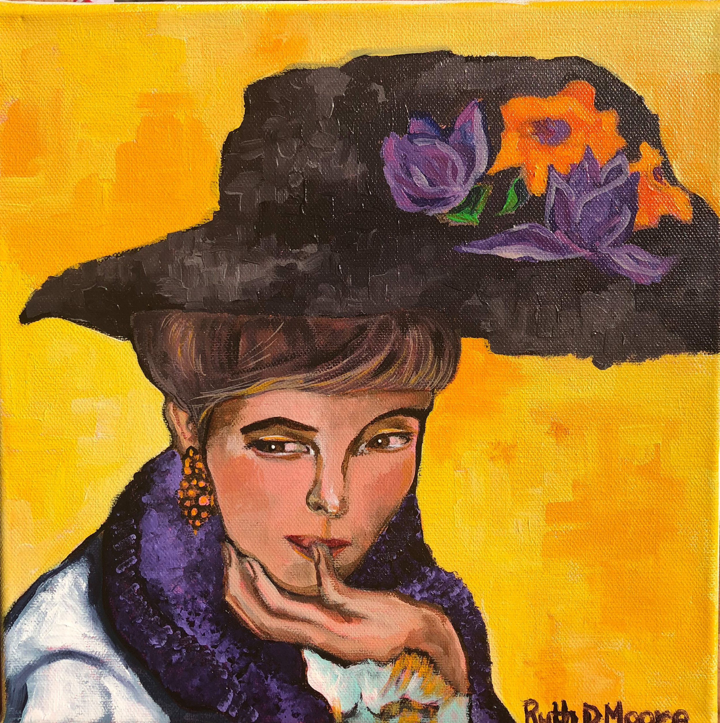 Gustav Klimt Inspired 2