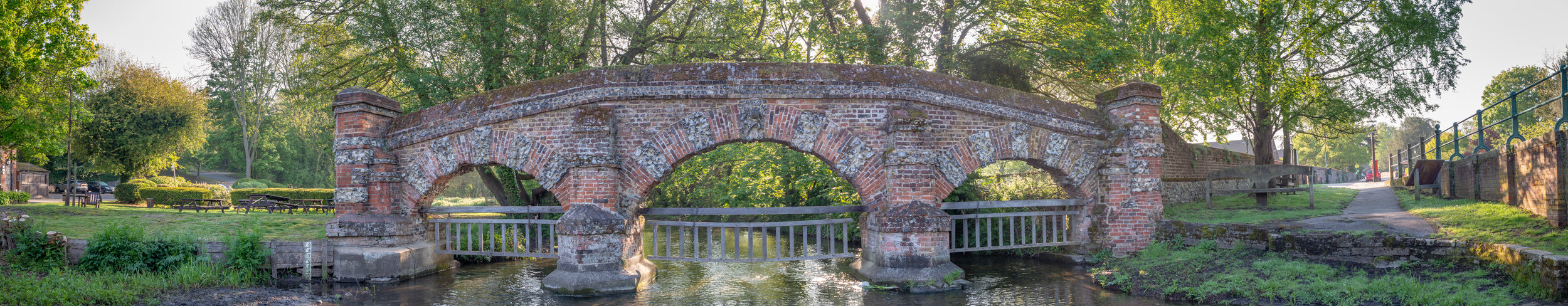 The Cattle Screen Bridge at Farningham