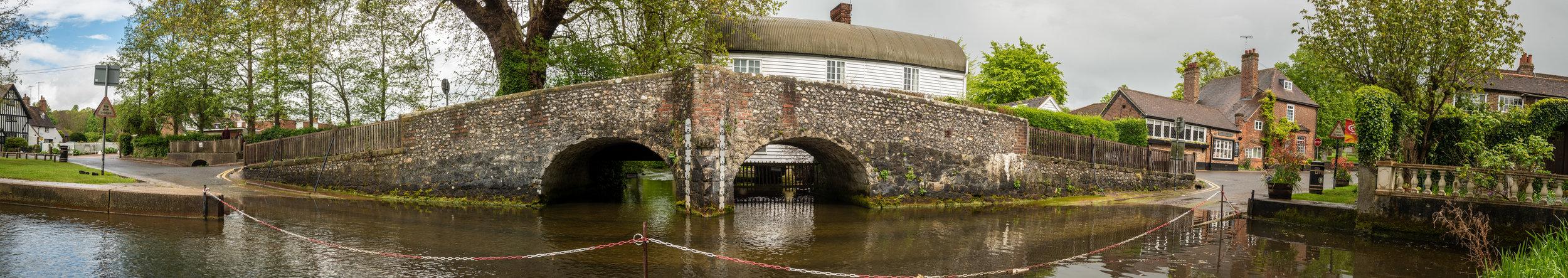 The Bridge & Ford at Eynsford