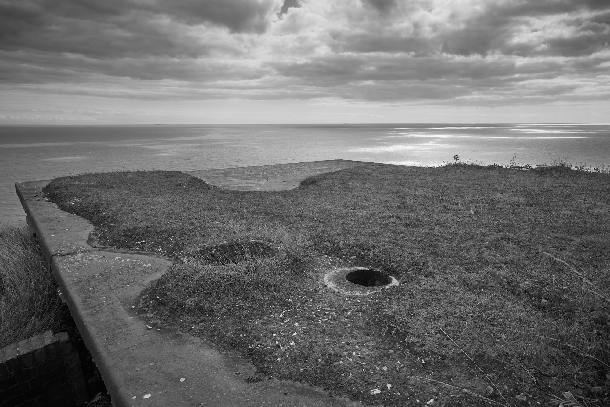 Artillery Observation Post Hougham Battery  - Weather Erosion