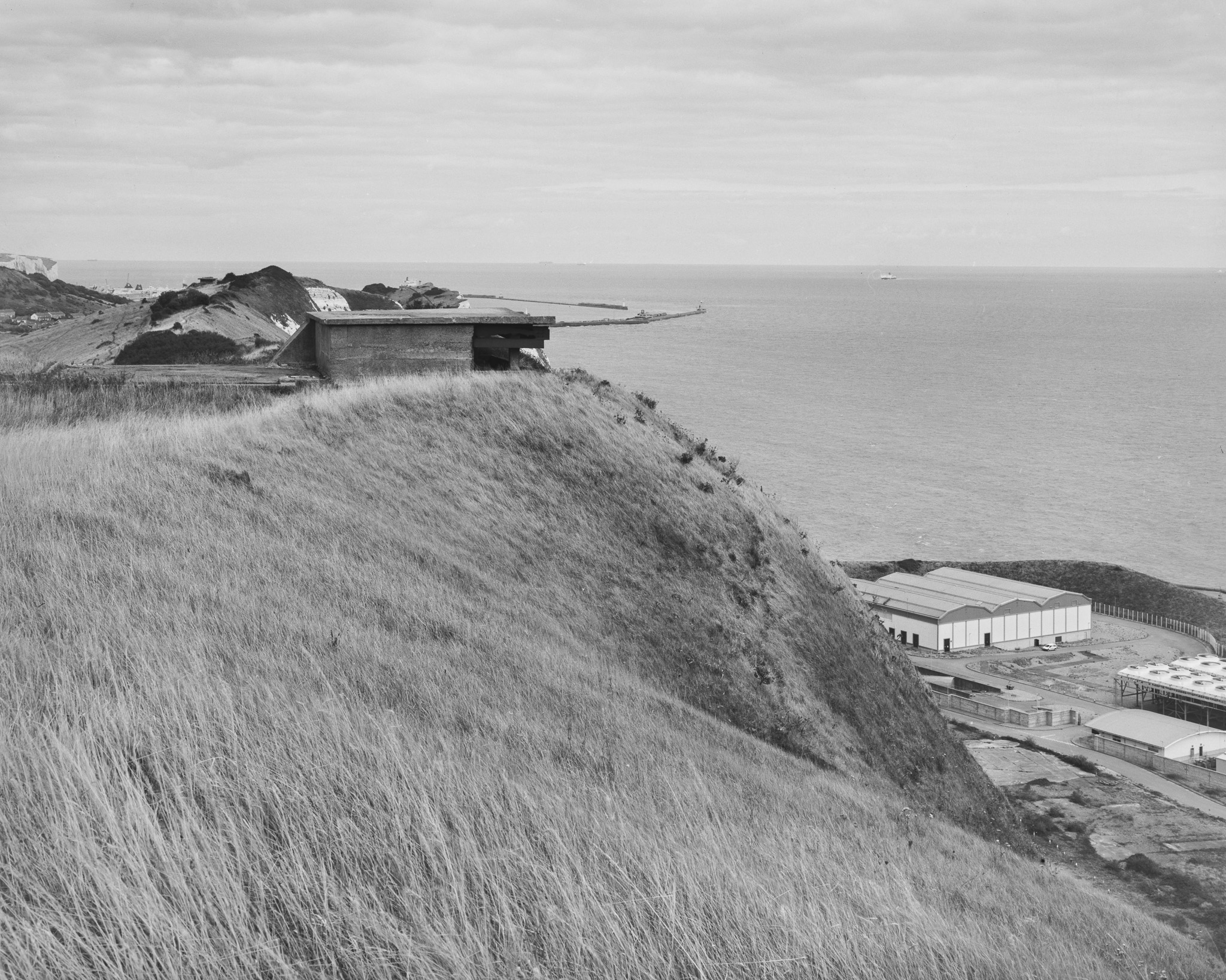 Artillery Lookout Above Dover Harbour (5x4)
