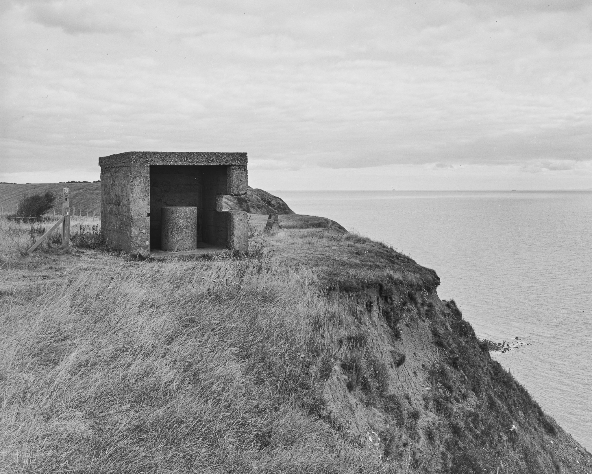 Gun Emplacement Abbot's Cliff (5x4)