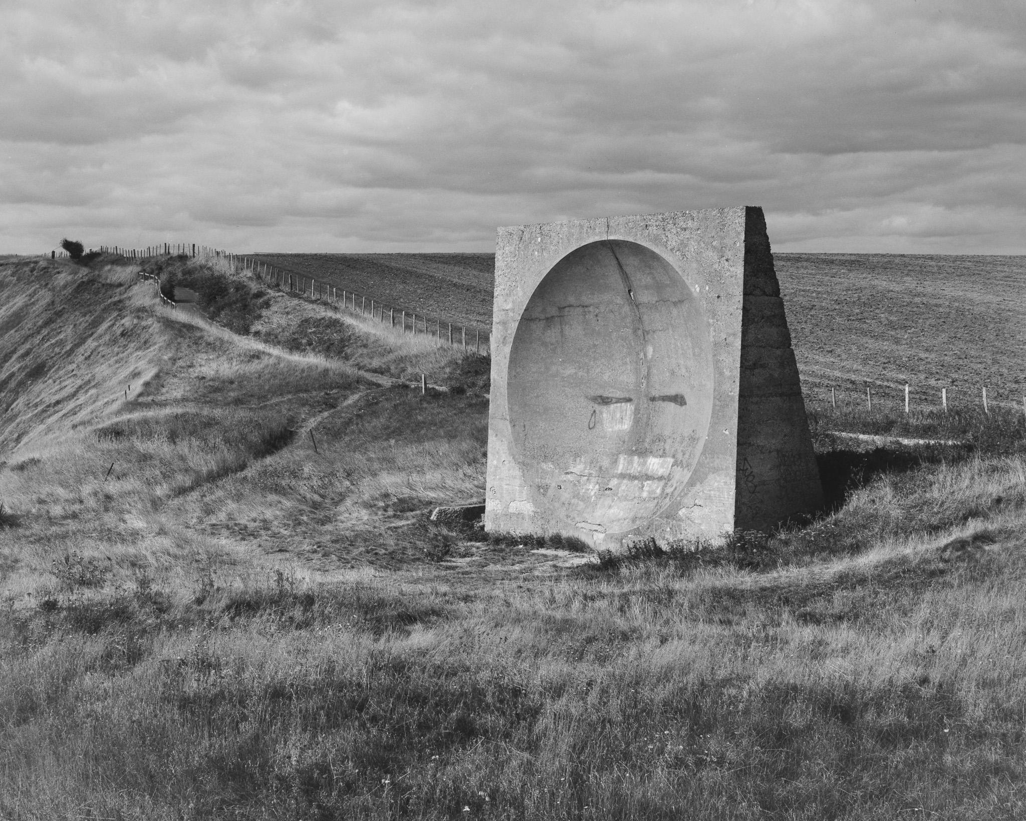 Sound Mirror Abbots Cliff (5x4)