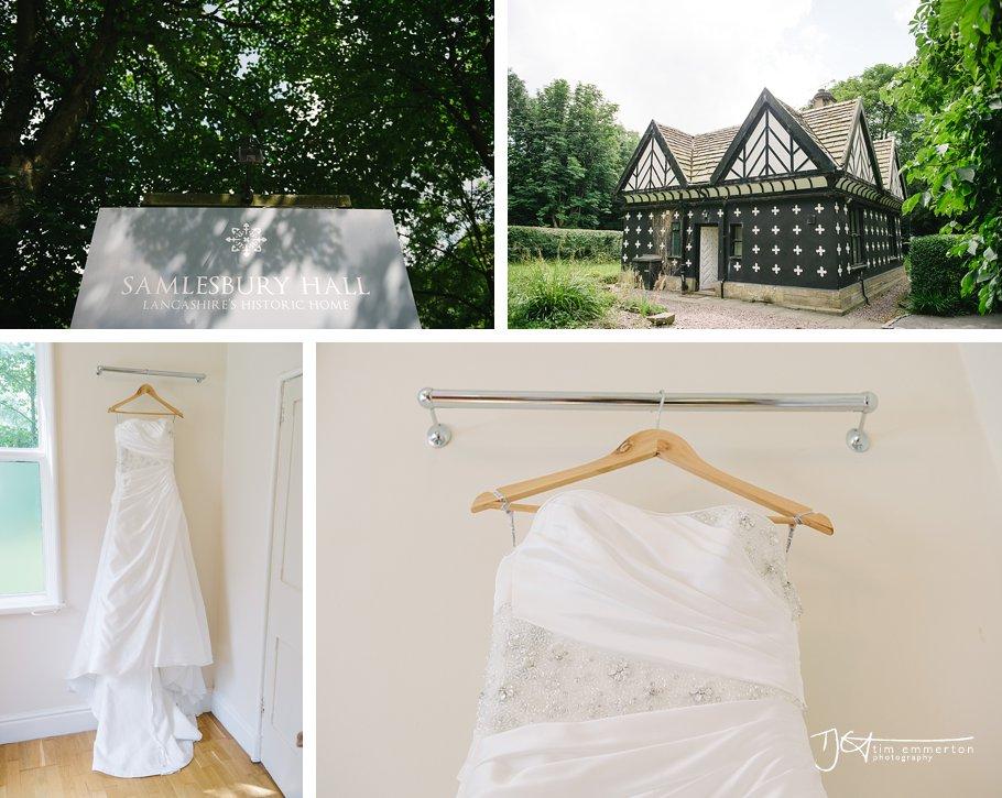 Samlesbury Hall Wedding - Kim & Carl-001