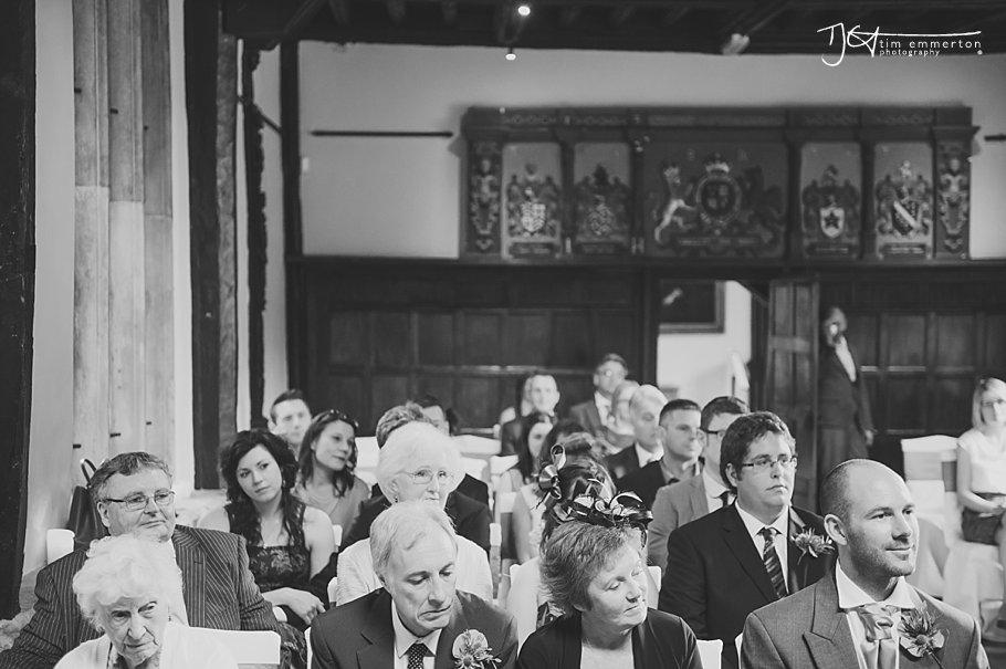 Samlesbury Hall Wedding - Kim & Carl-043