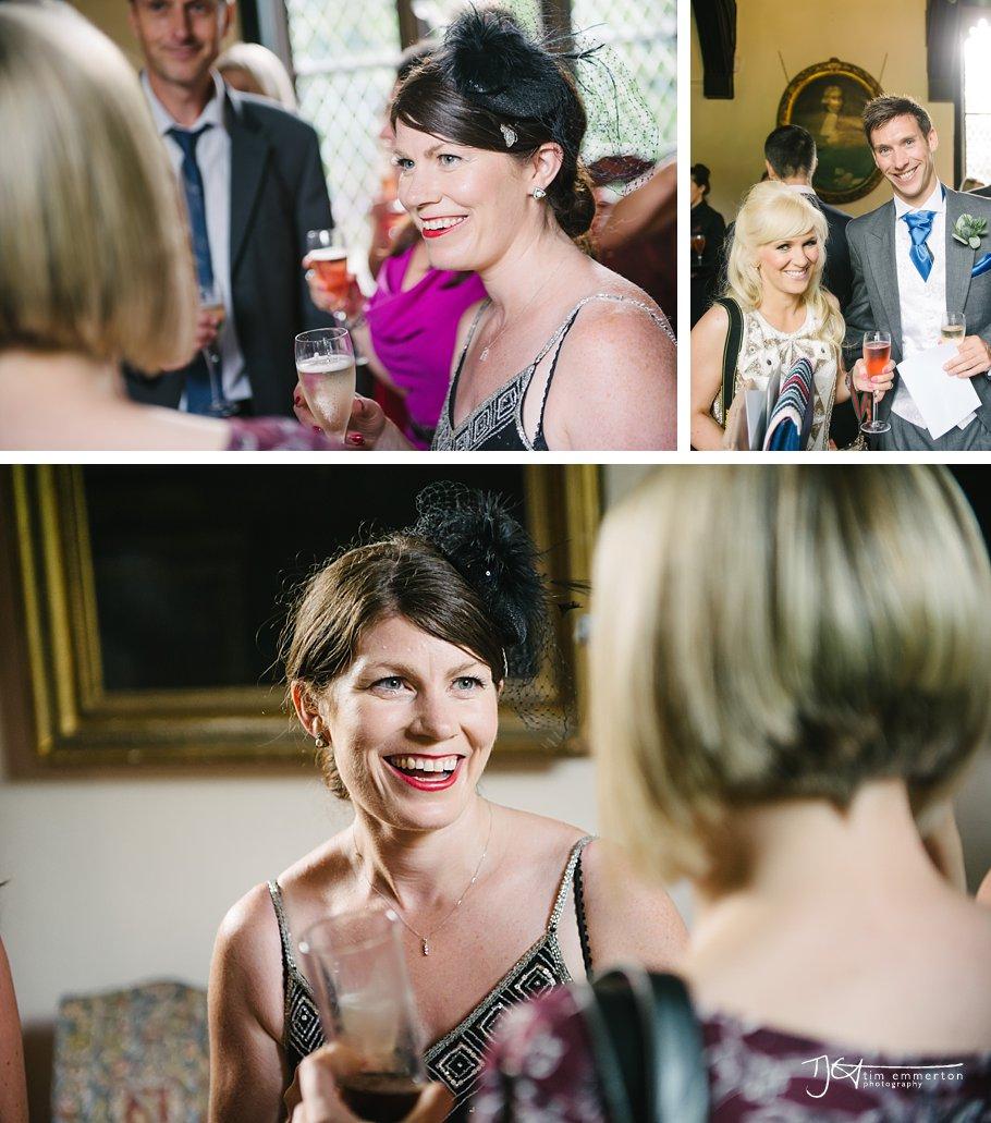 Samlesbury Hall Wedding - Kim & Carl-069
