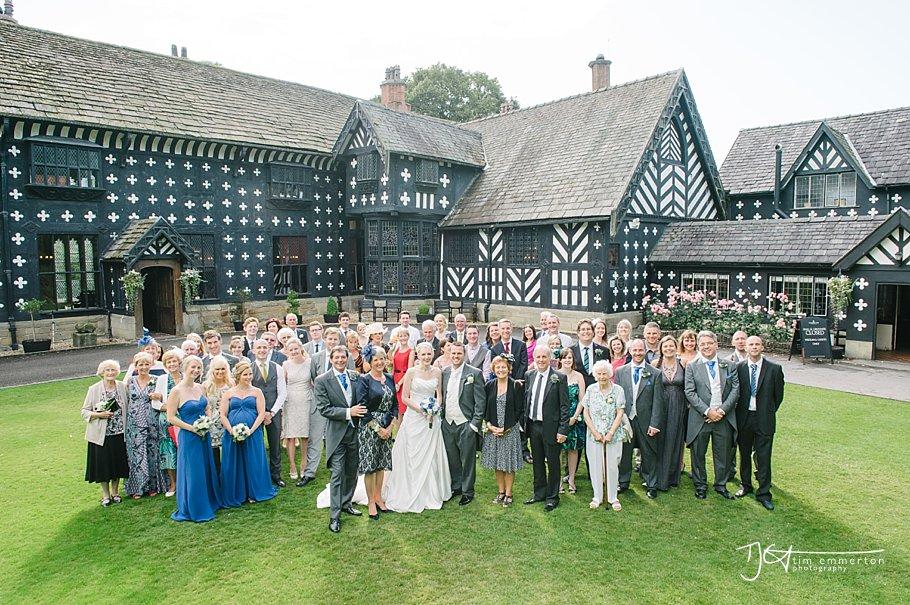 Samlesbury Hall Wedding - Kim & Carl-119