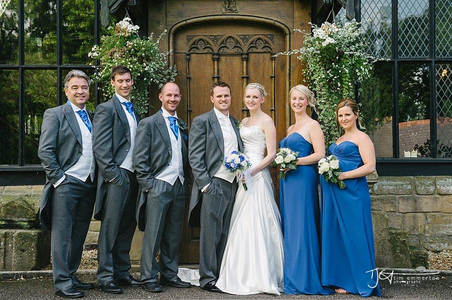 Samlesbury Hall Wedding - Kim & Carl-122
