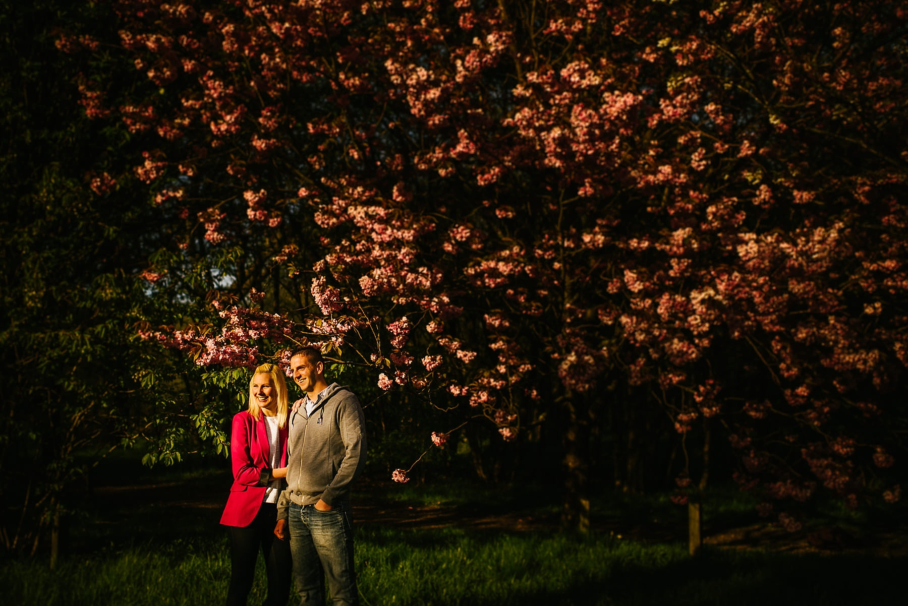 rivington hall pre wedding shoot