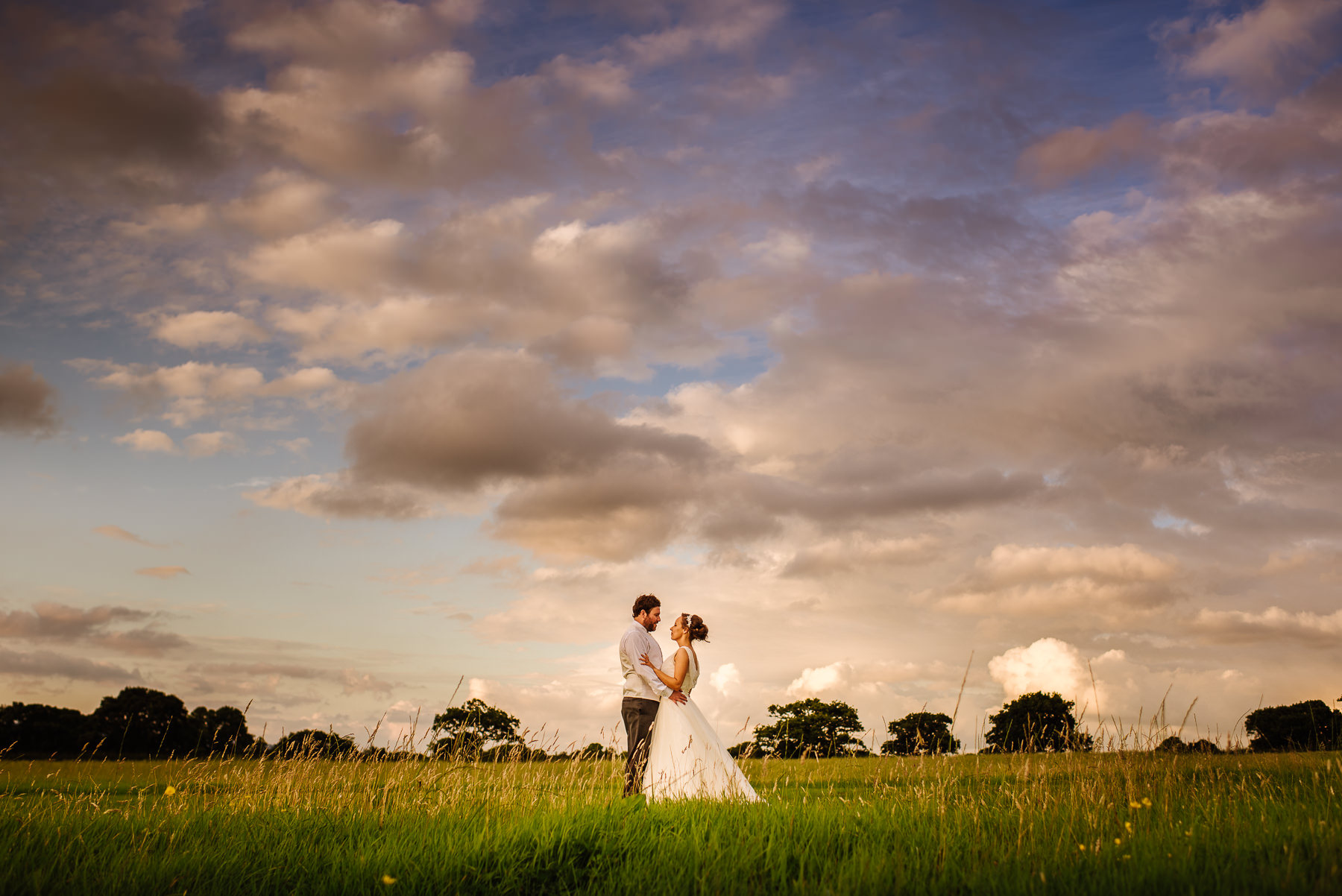 There can be beautifully soft light at sunset especially at the award winning  Beeston Manor