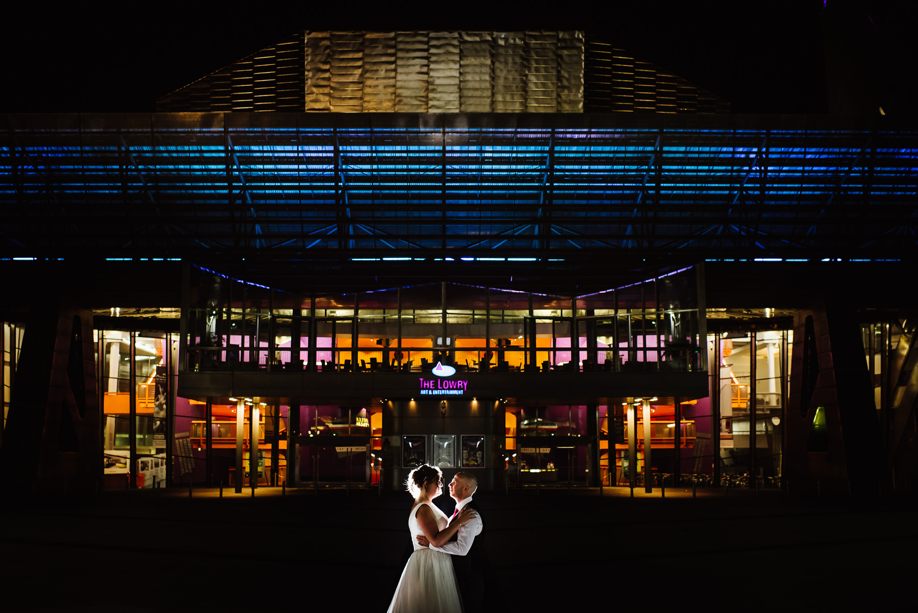 Wedding at the Lowry Salford, Manchester