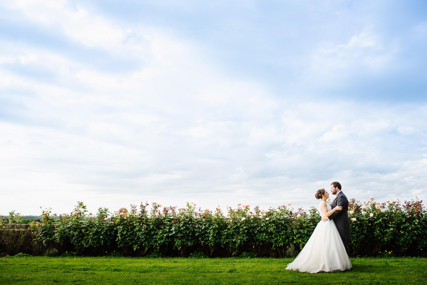 Wedding photograph at Beeston Manor
