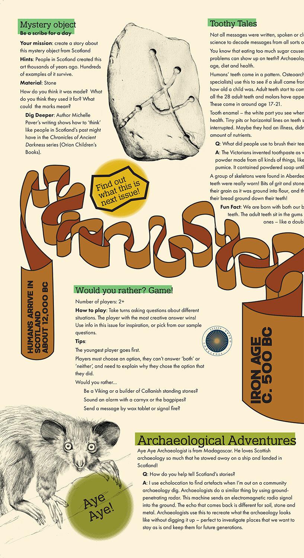 A sneak peek inside Issue 2