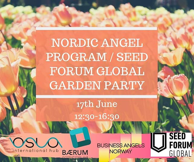 Join Us for Nordic Angel Program / Seed Forum Global Garden Party!! 😉🥂 The celebration will be in Oslo International Hub, Oscars Gate 27, our sister hub.  It is an excellent opportunity to meet a different network than the one usually present in Bærum. 👀🤝 Don't forget to register on Eventbrite if you want to participate!  https://l.facebook.com/l.php?u=https%3A%2F%2Fwww.eventbrite.com%2Fmyevent%3Feid%3D62563748857%26fbclid%3DIwAR1Xp10iU7qcoVlb-NSvKsZTXlcKoKY2wjUSsLPVl84Oe5pbzGQpTe9a8XI&h=AT0pdFDFEj1xpT9SnRLT5gAJIpZPTqiT2yfRG8ENbMBUJvr0fCfqjTOTqrU6snvFtLqS4EQhwLGLb1NxBbxR4ybydkEoJ29I5KsGY4BprT5jNJEpzPgBvtE15jS92-FepXRaigH6ug  #bærum #bæruminternationalhub #oslointernationalhub #oslo #businessoslo #norway  #Baerum #bih #meetingrooms #coworkingspace #startupincubator #businessnorge #investor #samarbeidoslo #oih #bih #oslohub #networking #gardenparty #seedforum2019 #seedforum #seedforumglobal #businessangels #businessangelsnorway