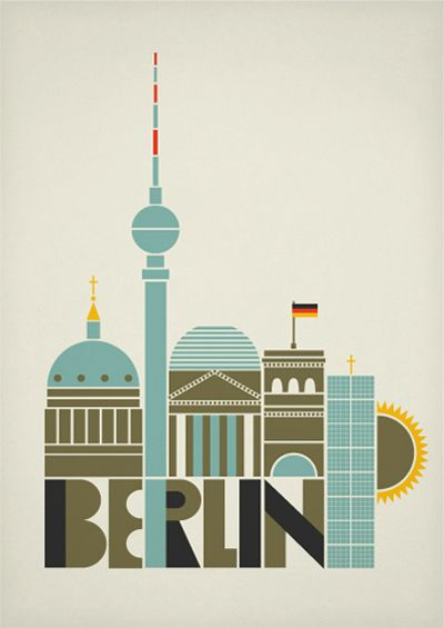 I am going to open a woodworking studio for women in Berlin. Love this poster from:  http://creativeroots.org/2011/05/berline-posters/