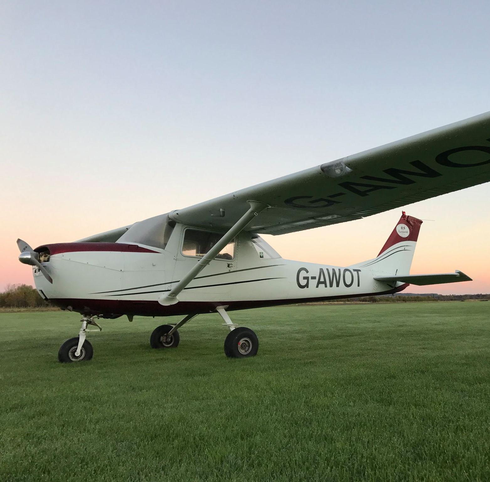 Flying Lesson Northumberland
