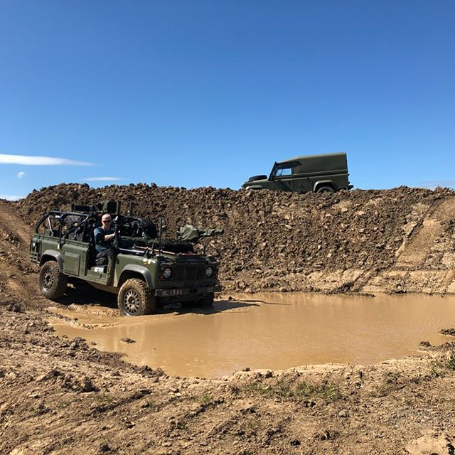 Here's a WMIK Land Rover on the course with a Tithonus 110.  If you want to use the track yourself with your own vehicle get in touch! #offroad #mud #morpeth #northumberland #sky #driving #experiences #xperience #gift #nofilter