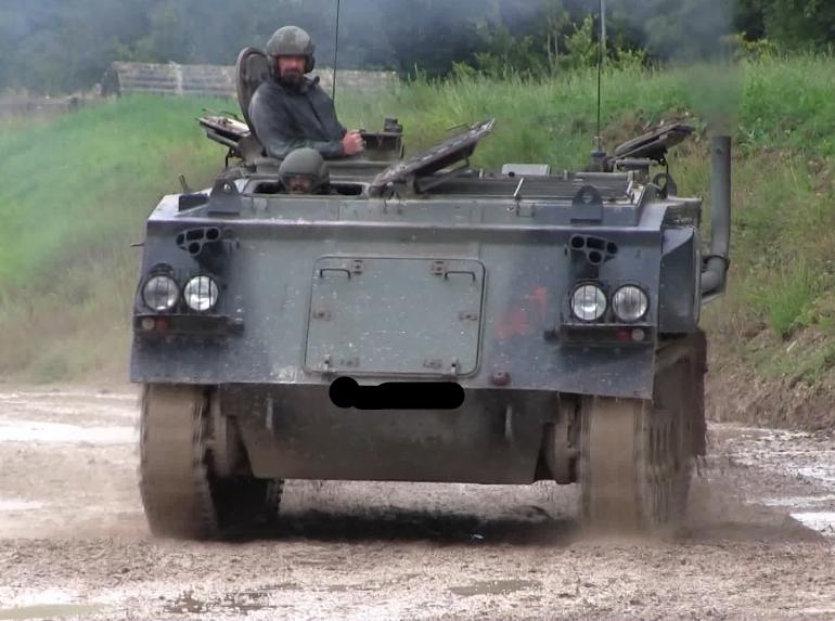 Tank driving Northumberland