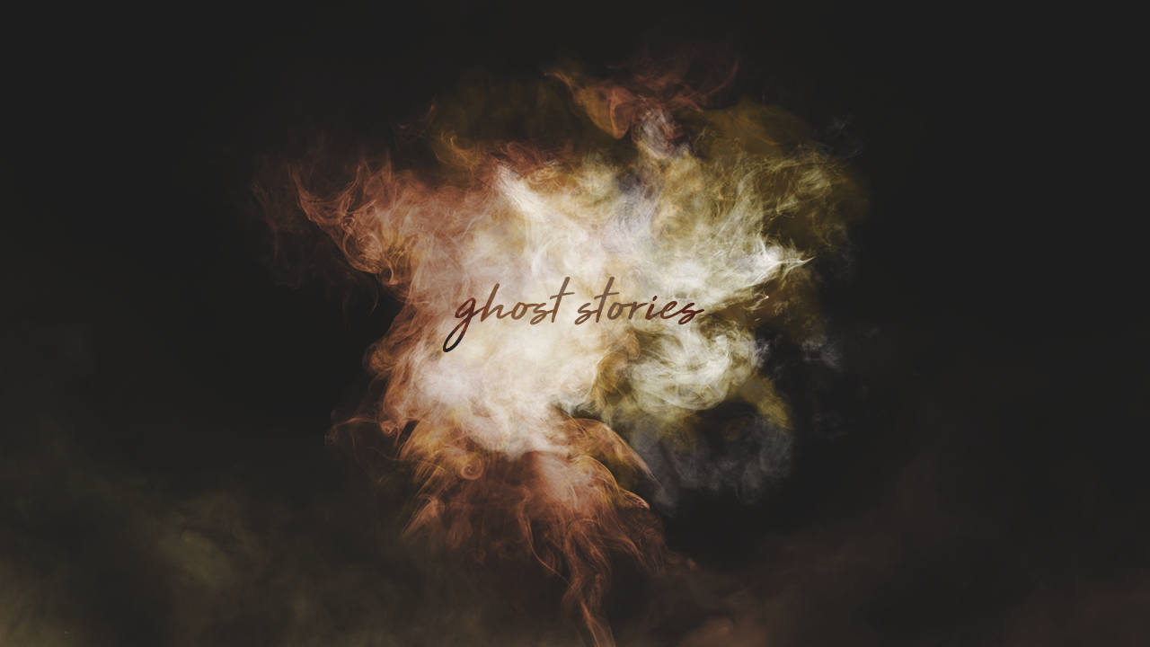Ghost Stories -  WATCH NOW   *June 23, 2019 - July 21, 2019  Jesus left behind His Spirit to help us overcome weakness, find hope in the midst of hopelessness, and experience the fullness of God, here and now. Curious to know how the Holy Spirit is already at work in your life? Join us and be sure to bring a friend as we gather around the campfire for some ghost stories.