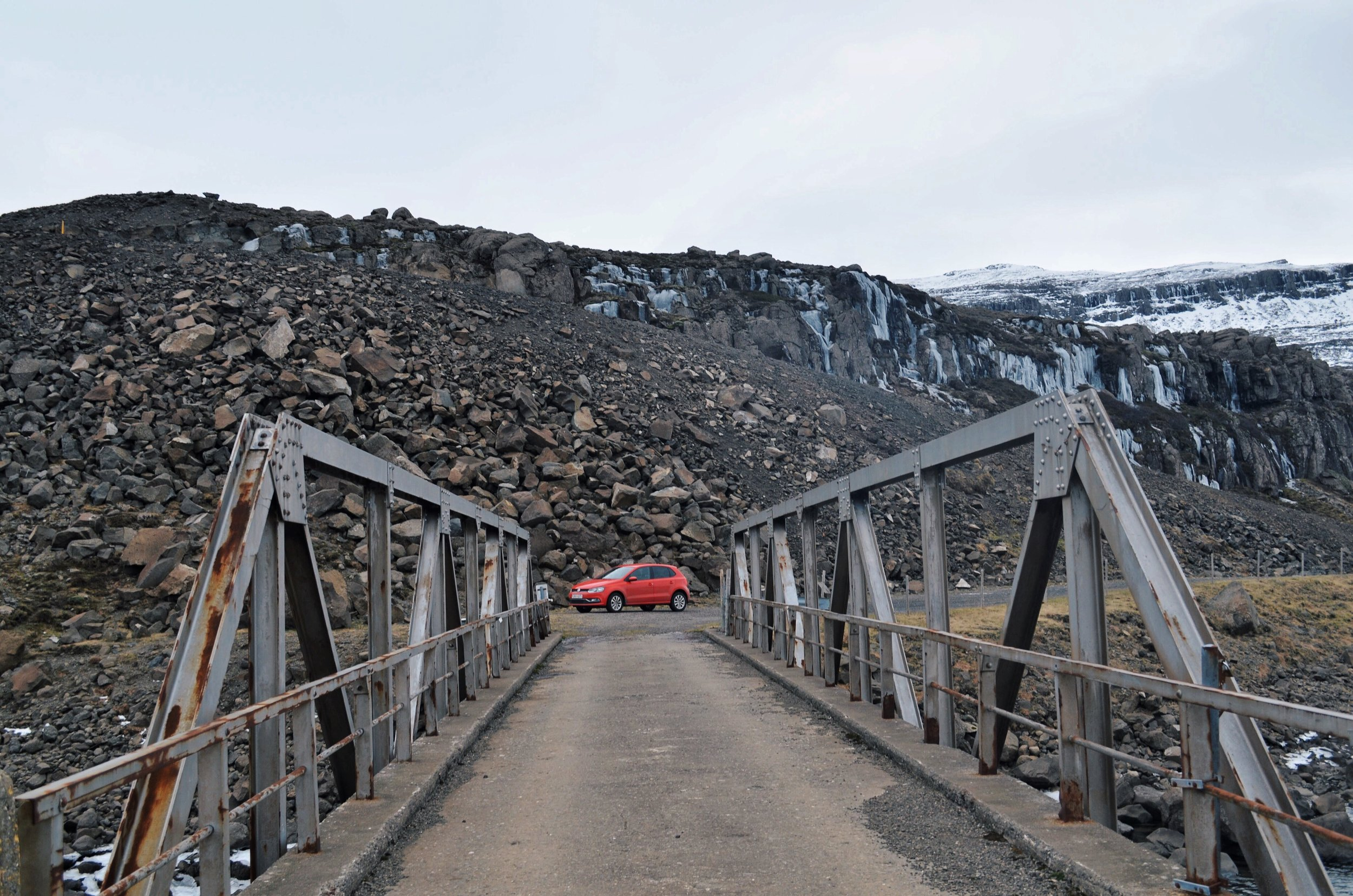 Exploring the back roads of Iceland