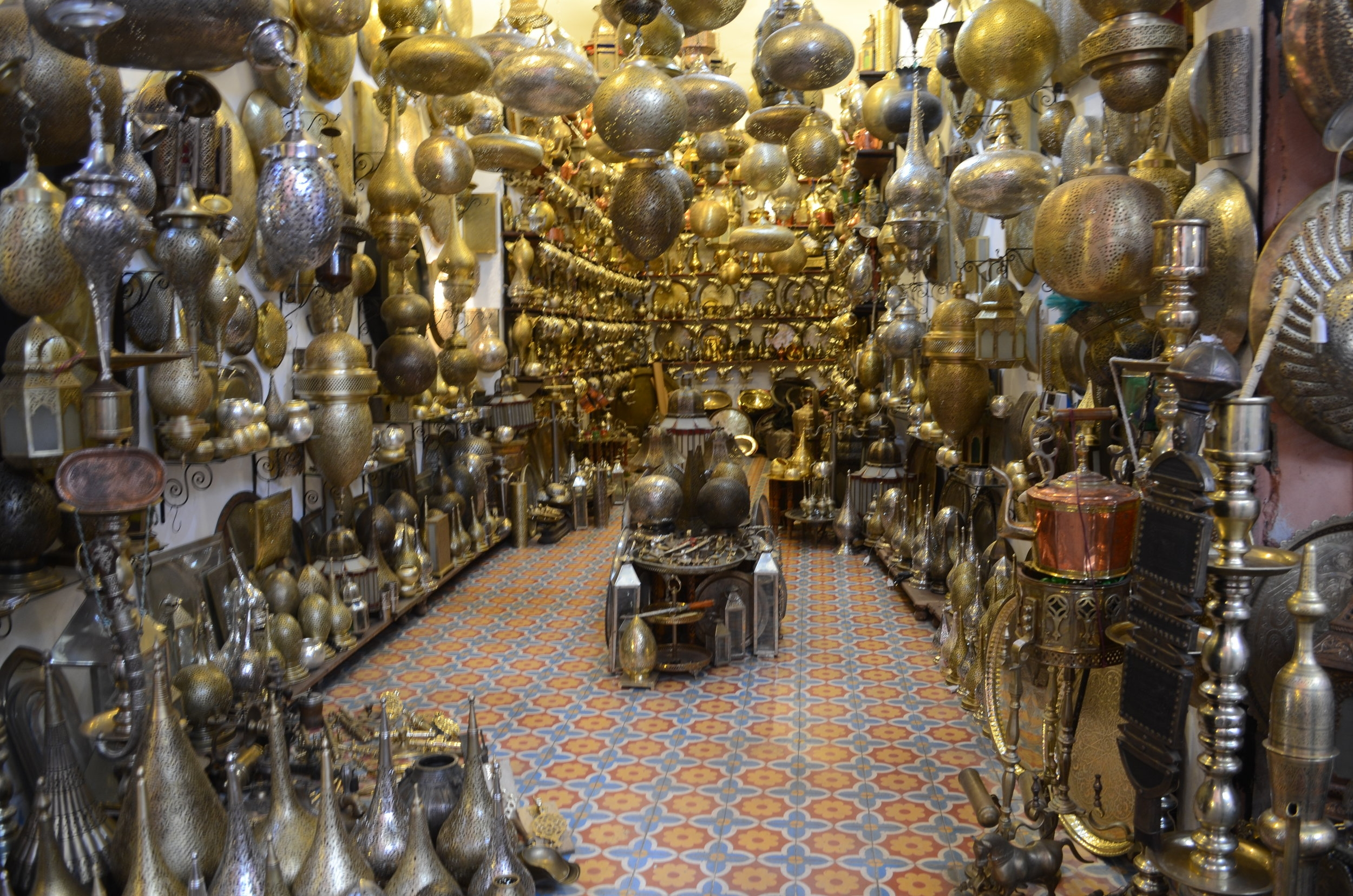Day 1 - Shop the souks of Marrakesh