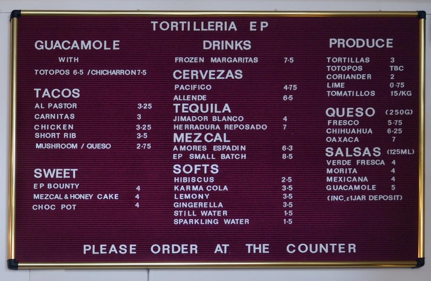 Tortilleria El Pastor