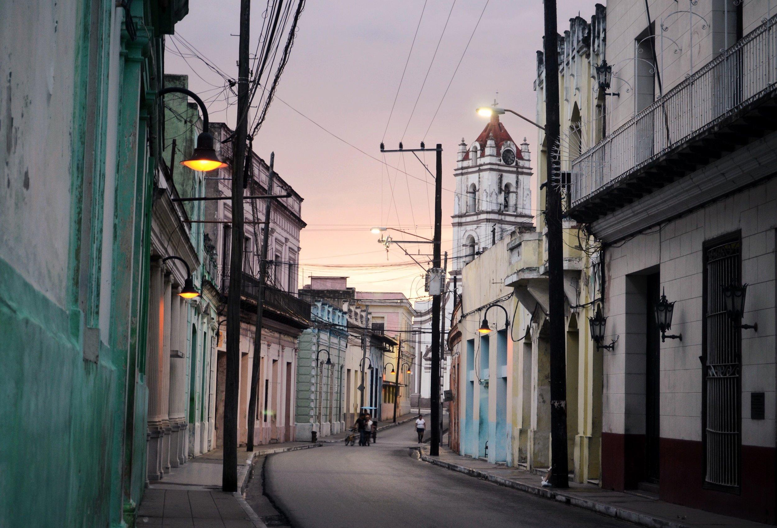 Golden Hour, Camaguey, Cuba