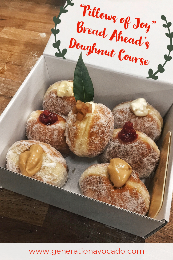 Pillows of Joy - Bread Ahead's Doughnut Making Course