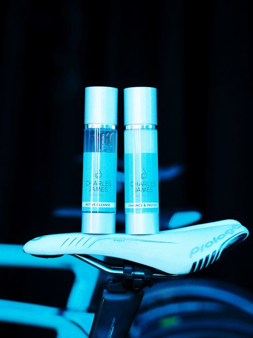 Active skincare product launch: Charles James X Bianchi Dama