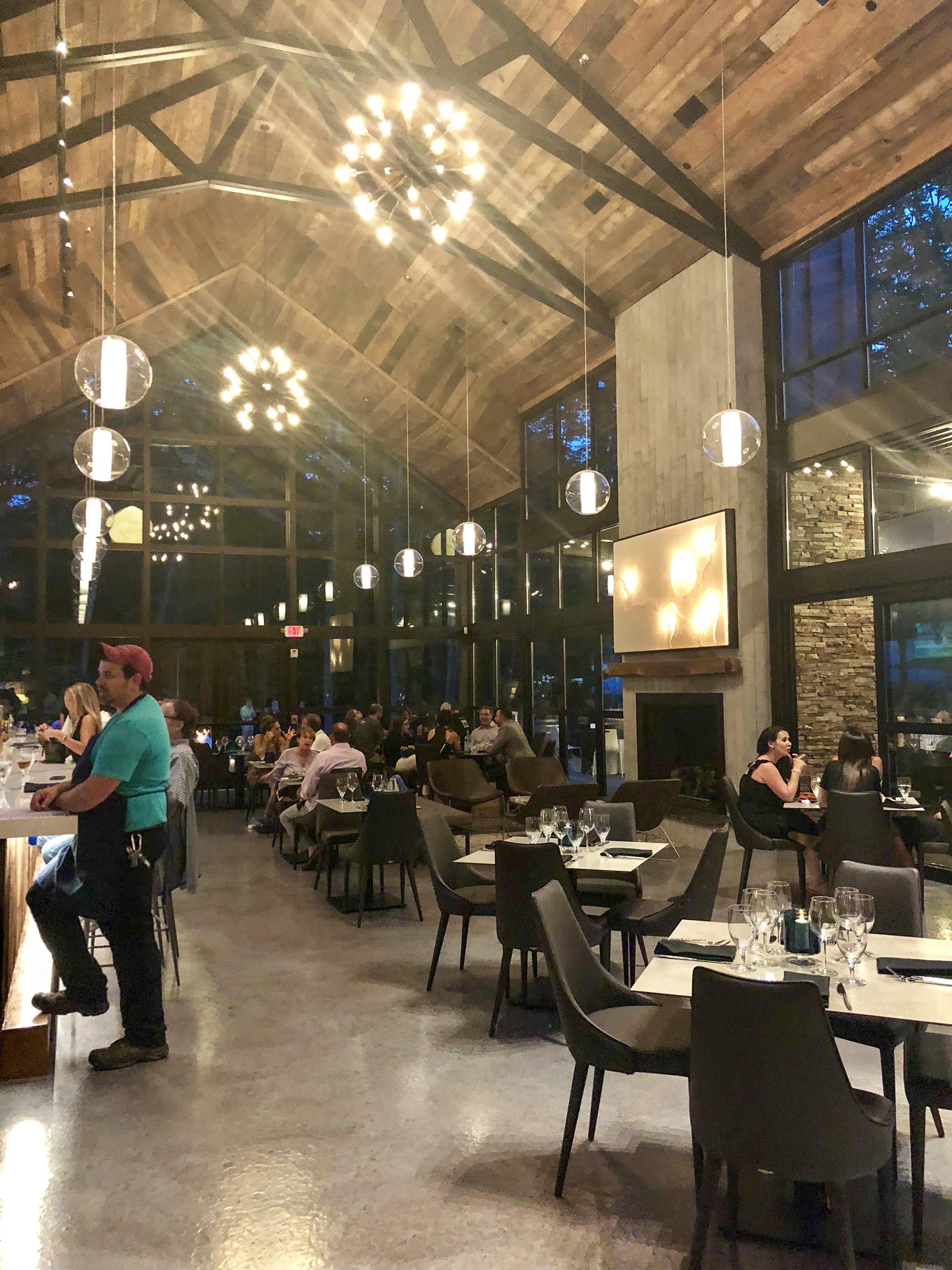 The Main Floor Dining Area