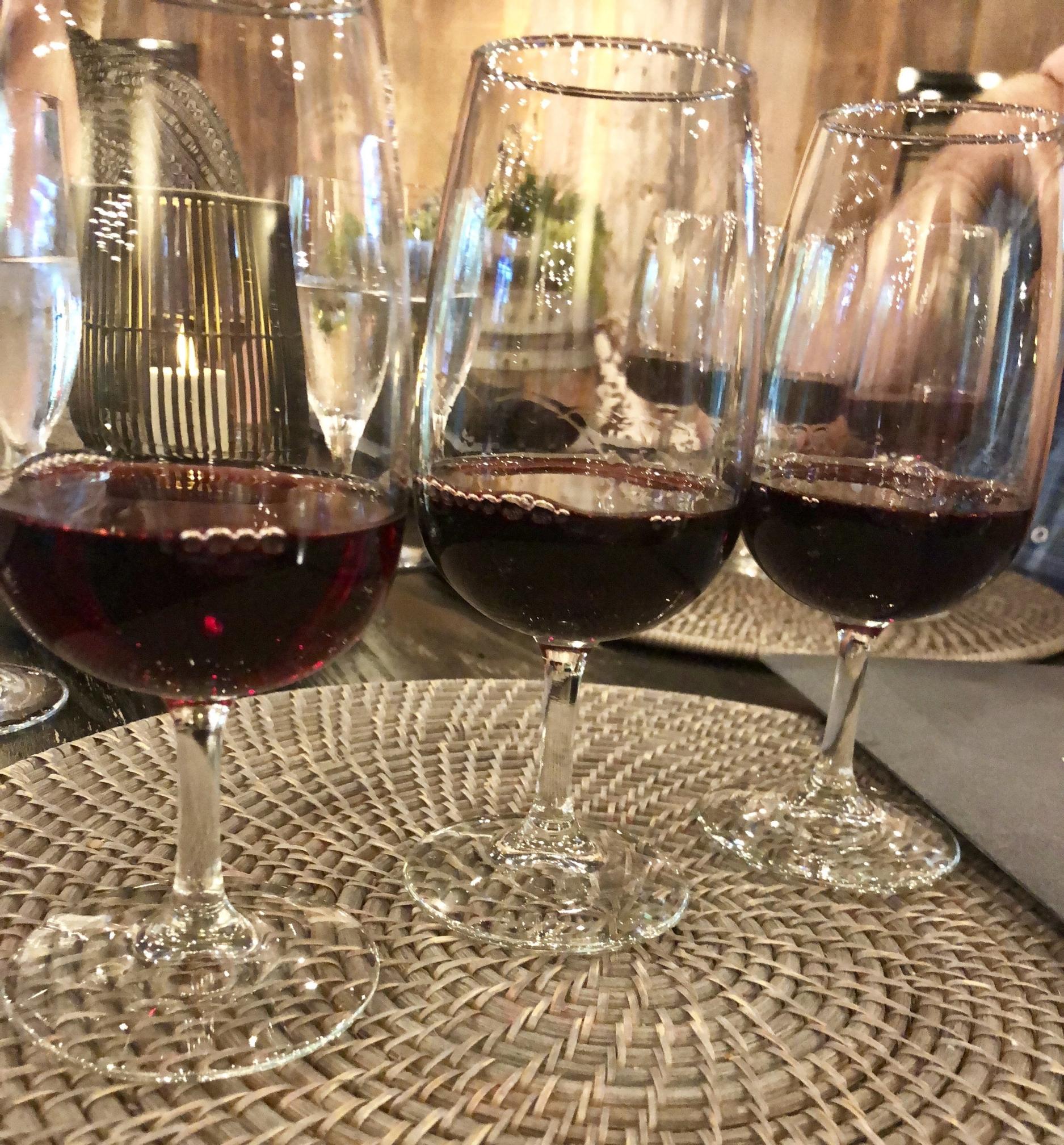 My Wine Flight